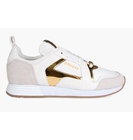 Cruyff Lusso wit goud sneakers dames (S)