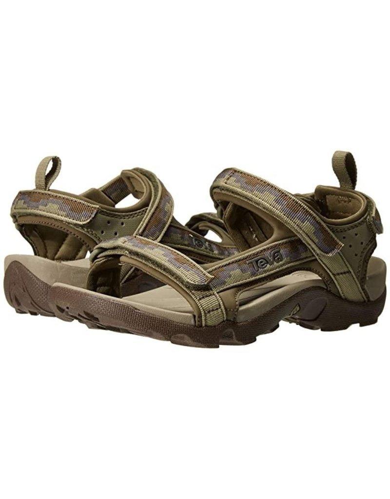 Teva Teva Tanza Steps groen sandalen kids