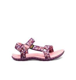 Teva Hurricane 3 Ciment Squares roze sandalen meisjes (maat 28-35)