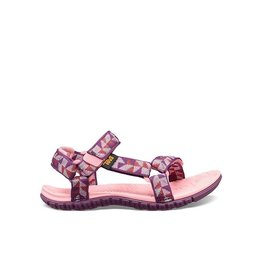 Teva Hurricane 3 Ciment Squares roze sandalen (maat 19-27)