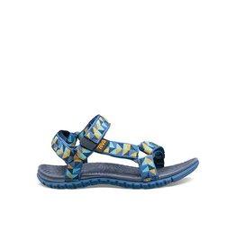 Teva Hurricane 3 Ciment Squares blauw sandalen (maat 36-40)