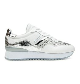 Cruyff Wave Embellished wit zilver sneakers dames  (S)