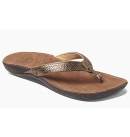 Reef Miss J-Bay koper slippers dames
