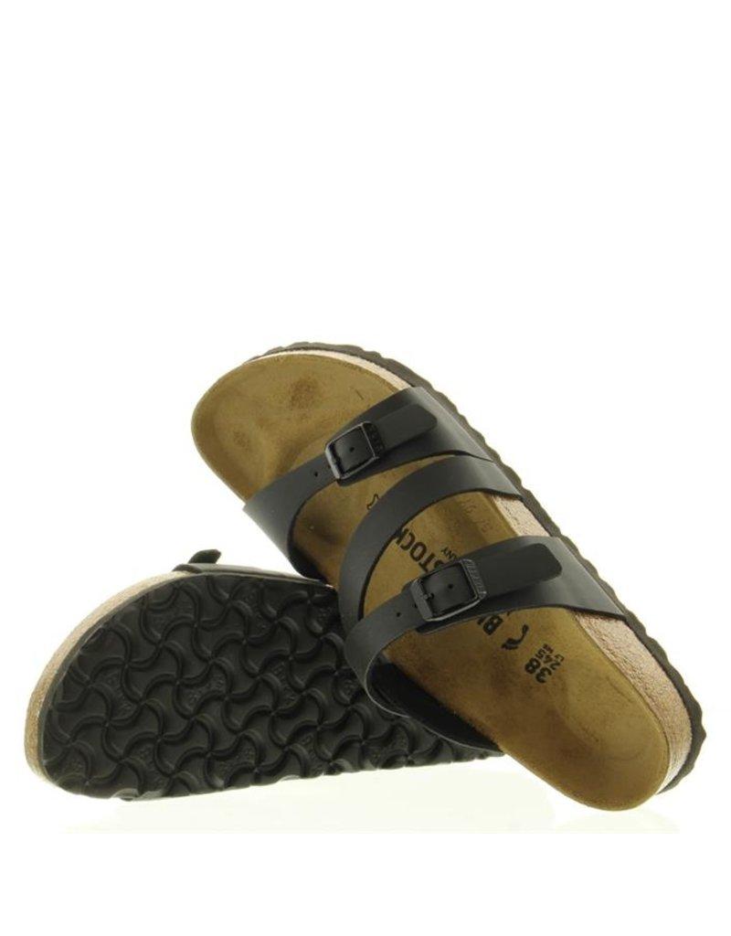Birkenstock Birkenstock Salina Strappy narrow zwart slippers dames