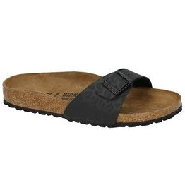 Birkenstock Madrid Leopard zwart sandalen dames