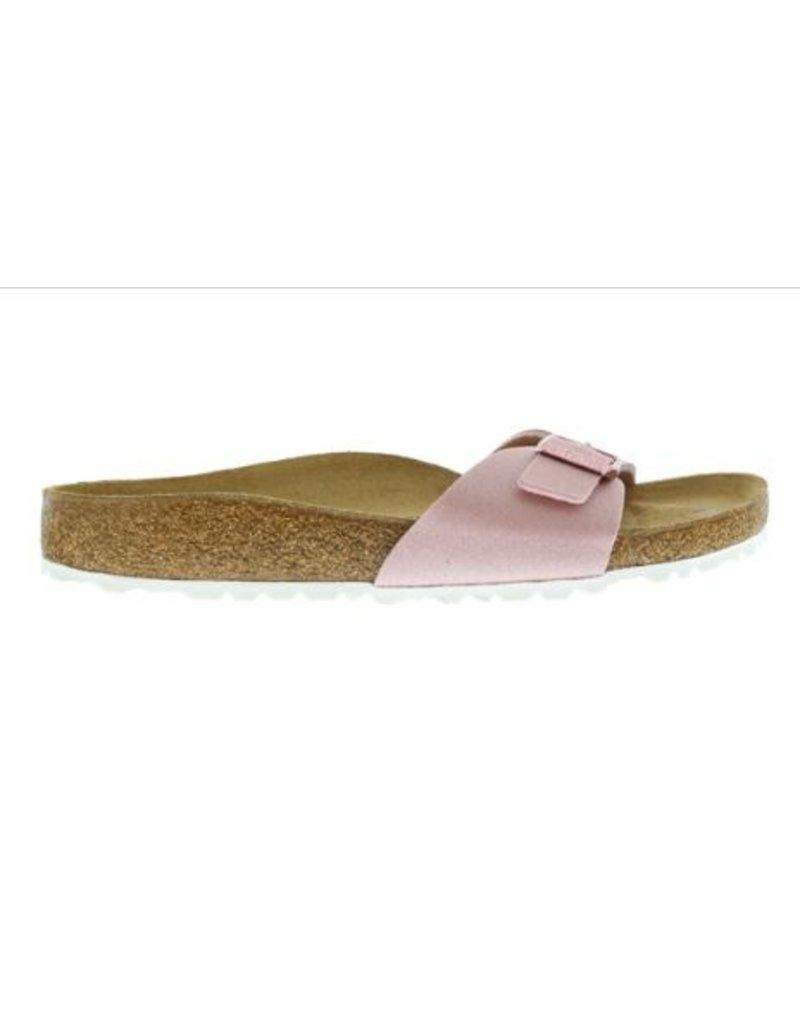 Birkenstock Birkenstock Madrid Icy Metallic roze narrow sandalen dames