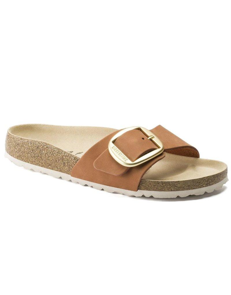 Birkenstock Birkenstock Madrid Brandy narrow bruin sandalen dames (S)
