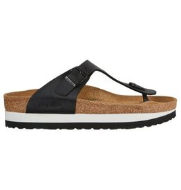 Papillio Gizeh zwart regular slippers dames (S)