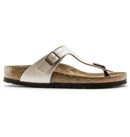 Birkenstock Gizeh Graceful parel wit slippers dames (S)