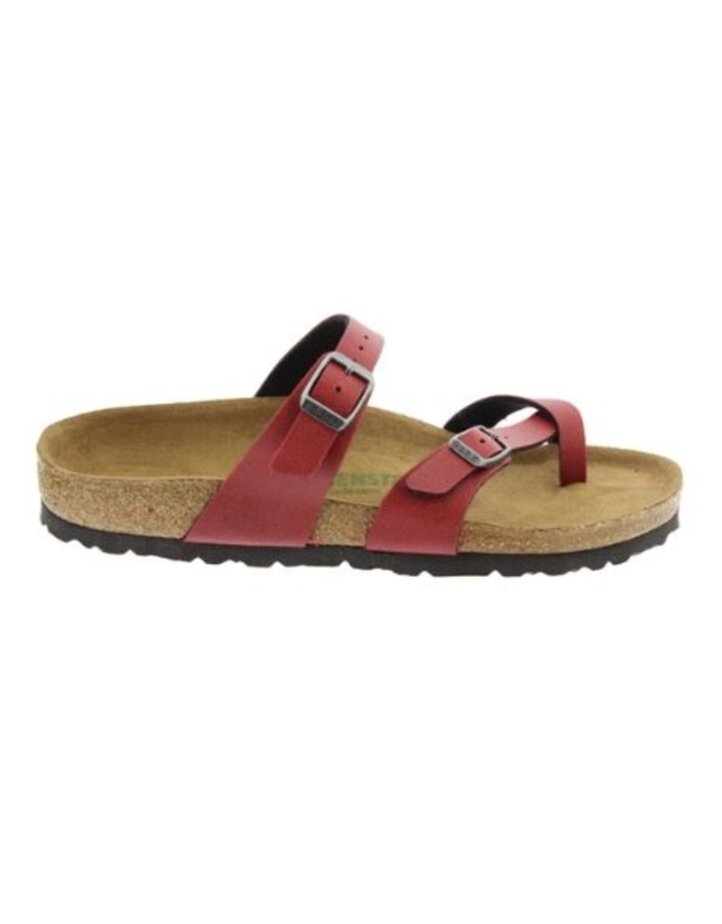 Birkenstock Birkenstock Mayari Pull Up bordeaux regular slippers dames
