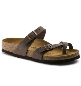 Birkenstock Mayari mocca  regular slippers dames (S)