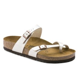 Birkenstock Mayari Graceful parel wit regular slippers dames (S)