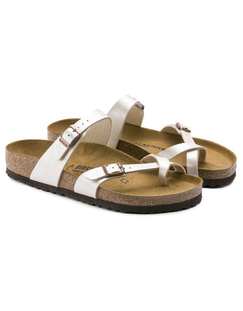 Birkenstock Birkenstock Mayari Graceful parel wit regular slippers dames