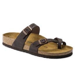Birkenstock Mayari habana bruin narrow slippers dames (S)