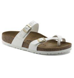 Birkenstock Mayari wit narrow slippers dames (S)