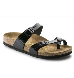 Birkenstock Mayari zwart regular slippers dames