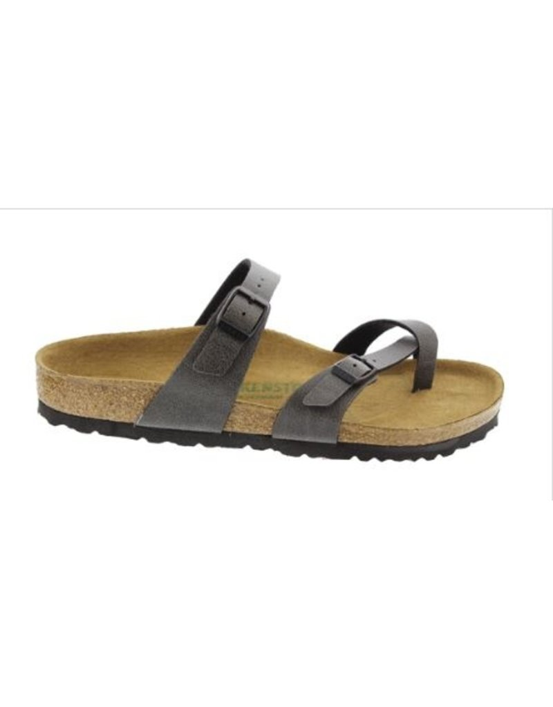 Birkenstock Birkenstock Mayari Pull Up anthracite narrow slippers dames