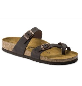 Birkenstock Mayari habana bruin regular slippers dames (S)