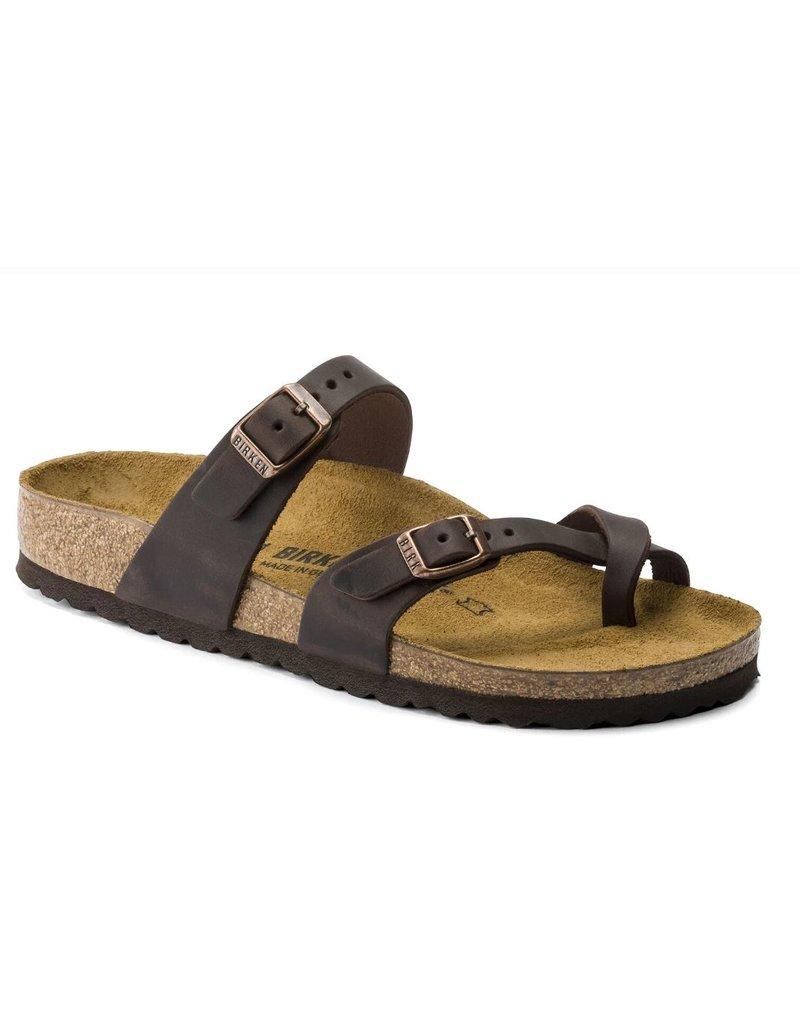 Birkenstock Birkenstock Mayari habana bruin regular slippers dames (S)