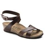 Papillio Papillio Lola cognac narrow sandalen dames