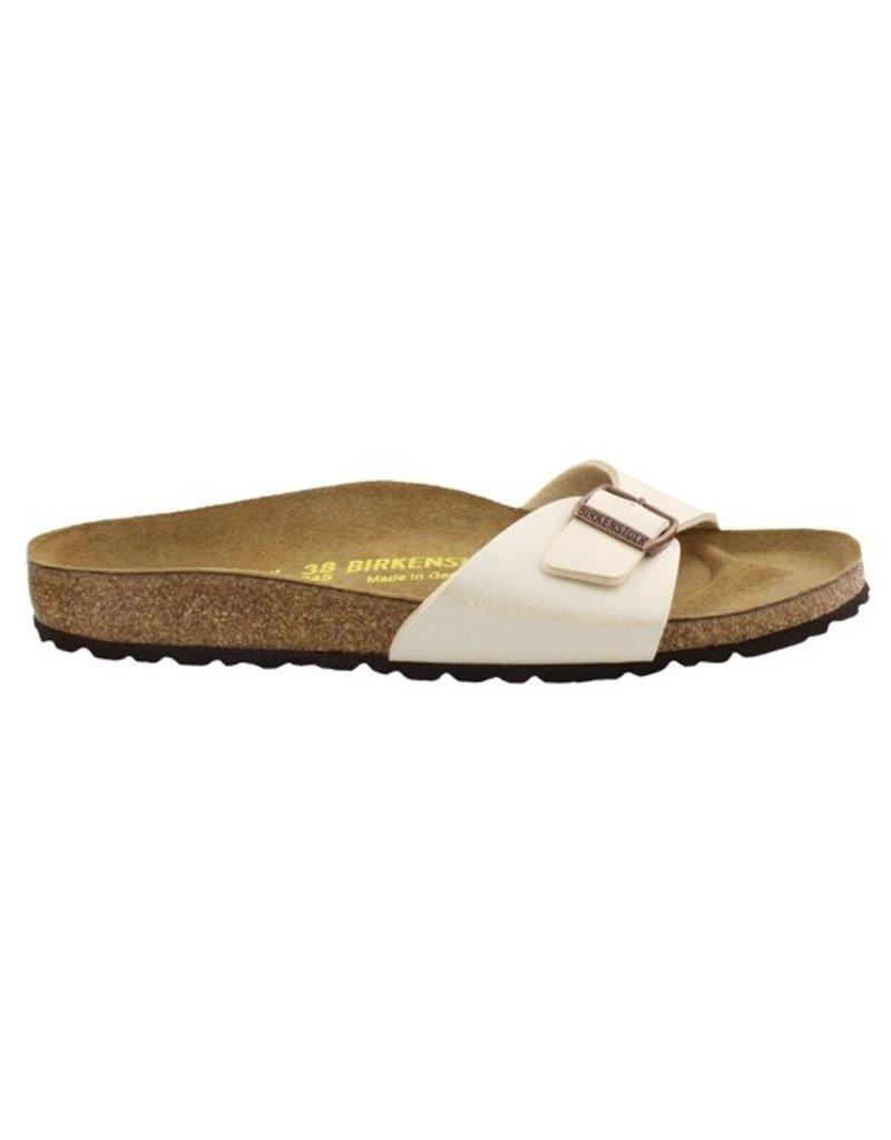 Birkenstock Birkenstock Madrid Graceful parelwit narrow sandalen dames