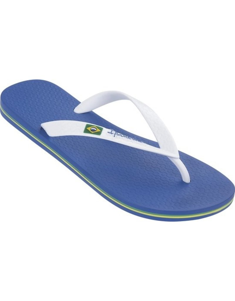 Ipanema Ipanema Classic Brasil  blauw wit slippers heren