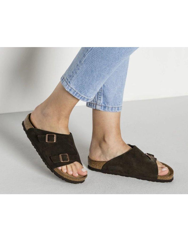 Birkenstock Birkenstock Zurich mocca regular sandalen  unisex  (S)