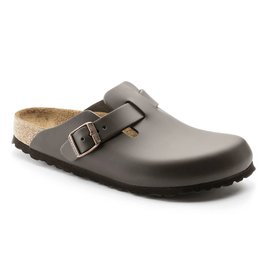 Birkenstock Boston bruin regular sandalen heren