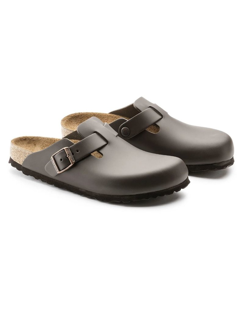 Birkenstock Birkenstock Boston bruin regular sandalen heren (S)