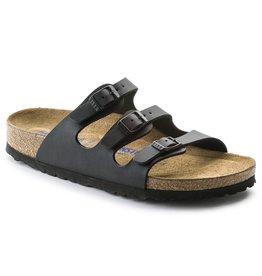 Birkenstock Florida zwart regular sandalen unisex (S)