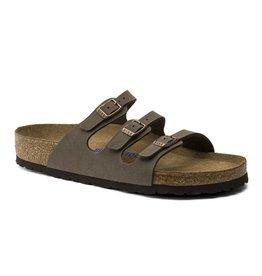 Birkenstock Florida mocca nubuck regular sandalen