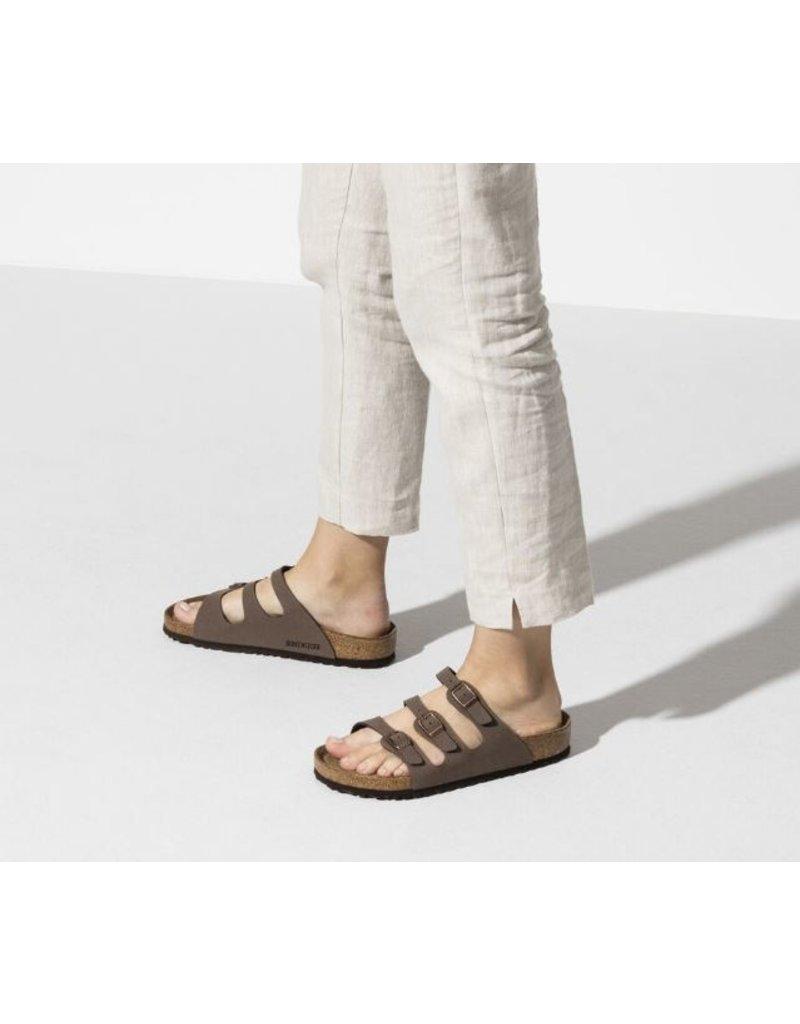 Birkenstock Birkenstock Florida mocca nubuck regular sandalen (S)