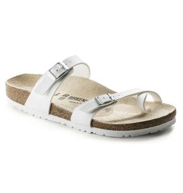 Birkenstock Mayari wit regular slippers dames