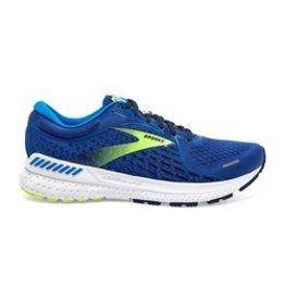 Brooks Adrenaline GTS 21 blauw hardloopschoenen heren