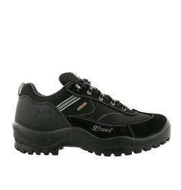 Grisport Torino Low zwart wandelschoenen uni (a)