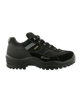 Grisport Torino Low zwart wandelschoenen uni (s)