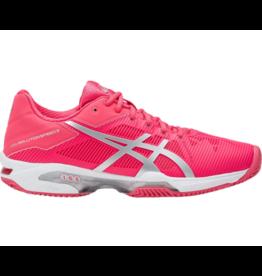 ASICS Gel-Solution Speed 3 clay  rood tennisschoenen dames