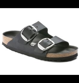 Birkenstock Arizona Big Buckle zwart vetleer regular sandalen dames (s)
