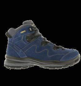 Grisport Gerlos Mid blauw wandelschoenen dames (a)