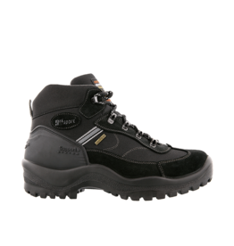 Grisport Torino Mid zwart wandelschoenen uni (a)