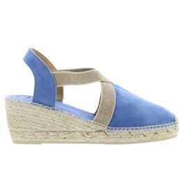 Toni Pons Tona blauw espadrilles dames (s)