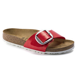 Birkenstock Madrid Graceful rood narrow sandalen dames (s)