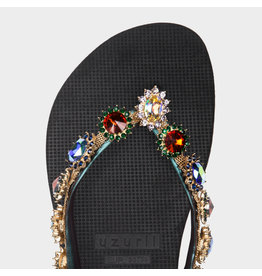 Uzurii Monroe zwart slippers dames (s)