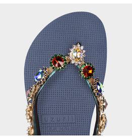 Uzurii Monroe blauw slippers dames (s)