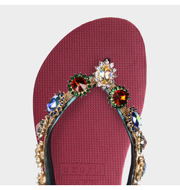 Uzurii Monroe rood slippers dames (s)