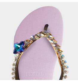 Uzurii Cross violet slippers dames (s)