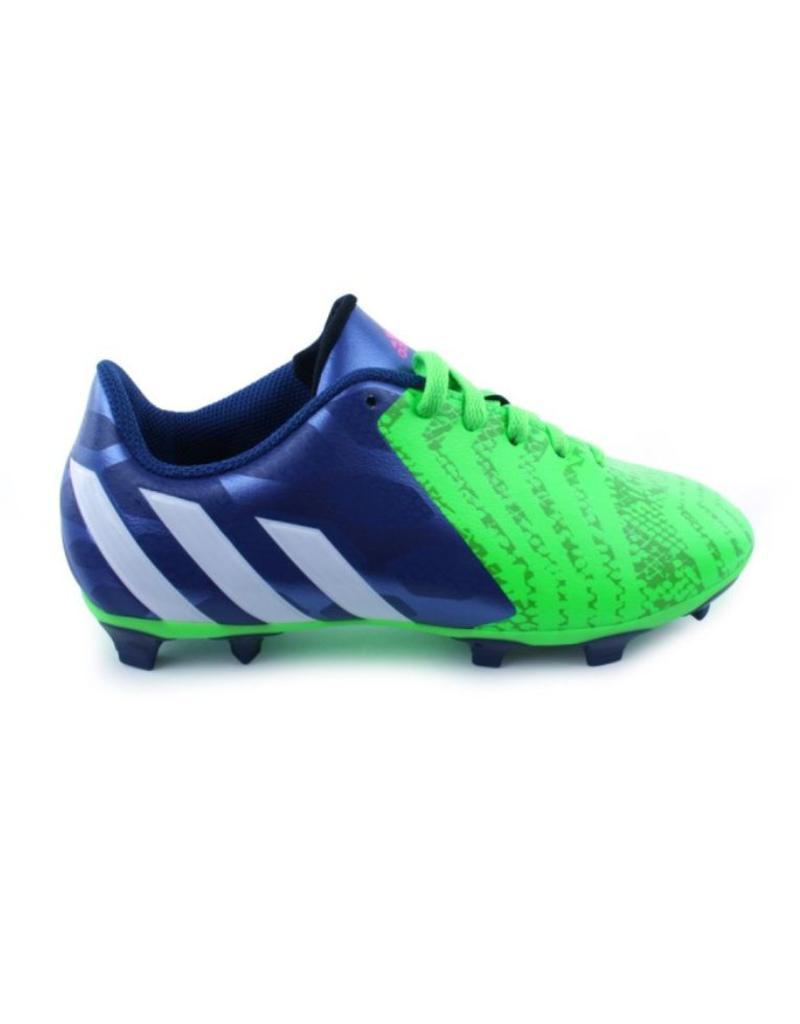 Adidas Predito Instinct Fg Junior groen blauw voetbalschoenen kids