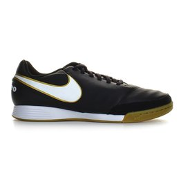 Nike Jr Tiempo Legend Leather VI IC zwart indoor voetbalschoenen kids