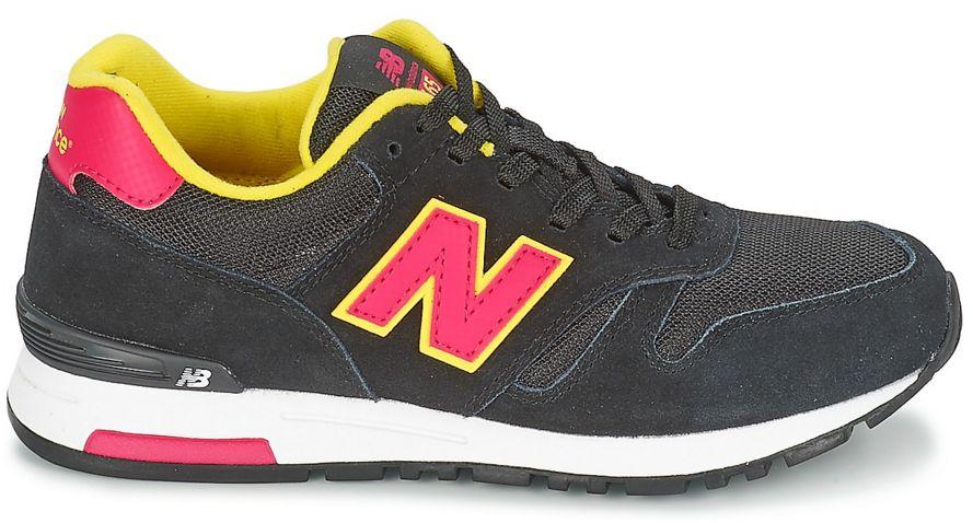 New Balance WL565 SMY zwart sneakers dames (417291 50 8)