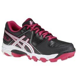 ASICS Gel Hockey Blackheath 5 GS zwart roze hockeyschoenen meisjes